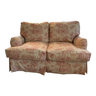 Quatrine Company Custom Slipcovered Sofa For Sale