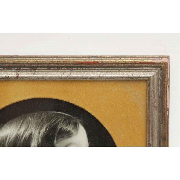 Children's Vintage Framed Trio of Children's Portraits For Sale - Image 3 of 4