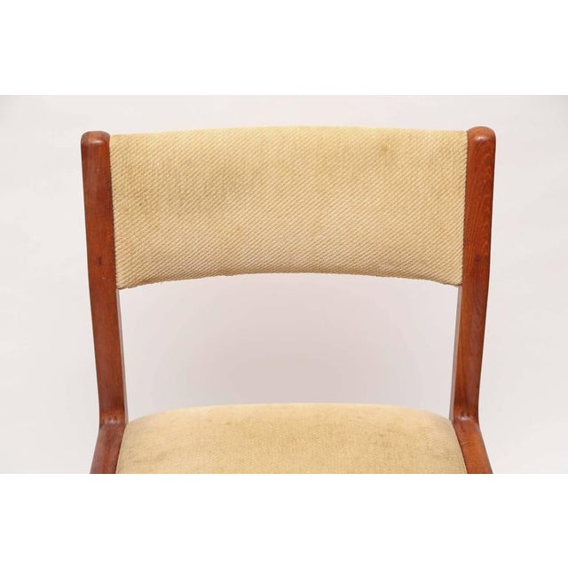 Mid-Century Modern Set of Six J.L. Moller Teak Dining Chairs, 1960s, Denmark For Sale - Image 3 of 7