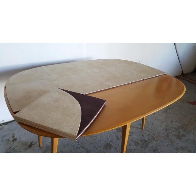 Mid-Century Heywood Wakefield Dining Table - Image 10 of 11