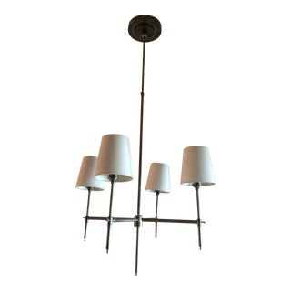 Thomas O'Brien for Visual Comfort 4-Light Chandelier For Sale