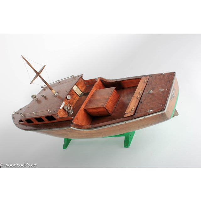 1940s Steam Powered Wooden Boat - Image 8 of 11