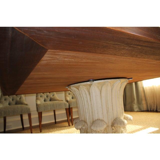 Custom Made Walnut Dining Table - Image 8 of 8