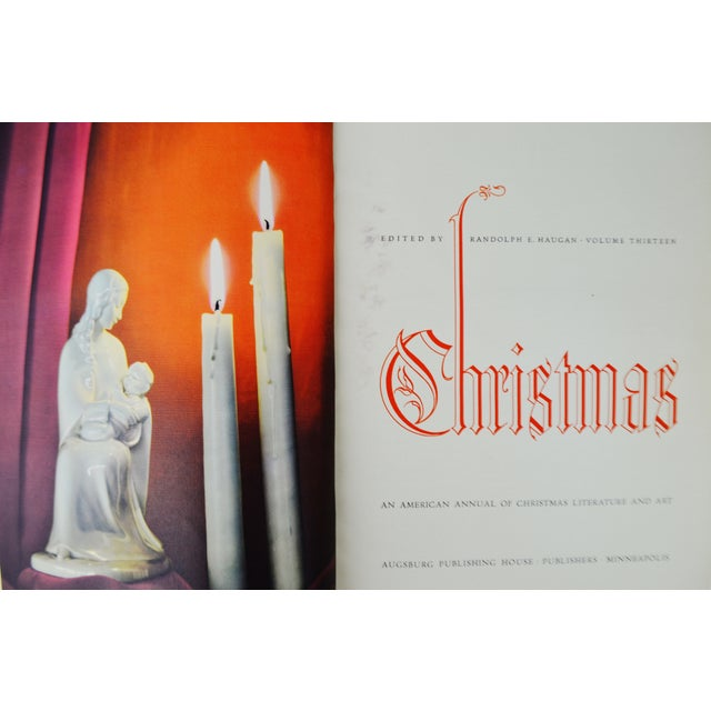 """""""Christmas: An American Annual of Christmas Literature and Art"""" 1943 Book - Image 7 of 10"""