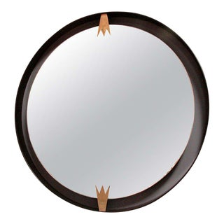 Iron and Brass Moderne Mirror