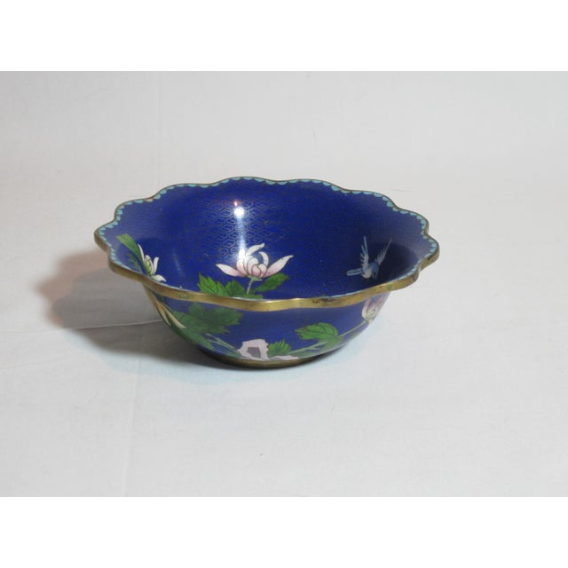 Scalloped Cloisonné Bowl - Image 3 of 6