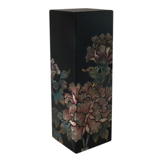 Mid 20th Century Vintage Oriental Asian Plant Stand For Sale