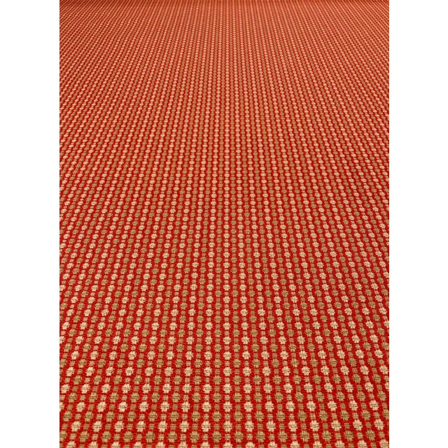 2010s Jane Churchill for Cowtan & Tout Castor - Transitional Red / Sand Upholstery Fabric - 10 Yards For Sale - Image 5 of 5