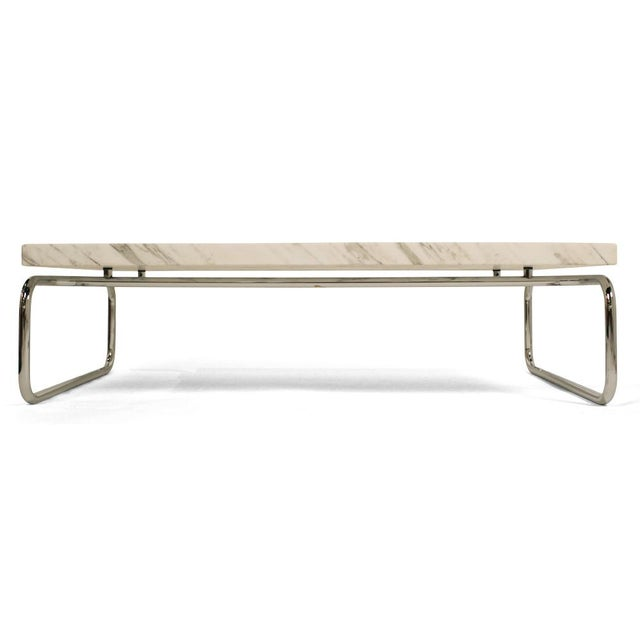 Monolithic Marble Cocktail Table by Michael McCarthy for Cassina For Sale - Image 9 of 9