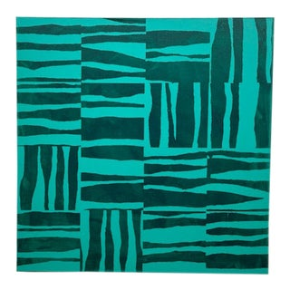 Contemporary Minimalist Abstract Acrylic Painting For Sale
