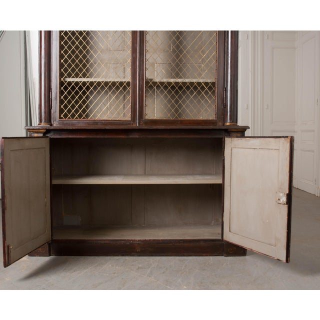 19th Century English Regency Library Bookcases - a Pair For Sale - Image 11 of 13