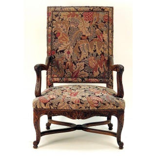 Late 19th Century French Regency Fruitwood Armchair Preview