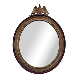Early 20th Century Antique Federal Style Mirror For Sale
