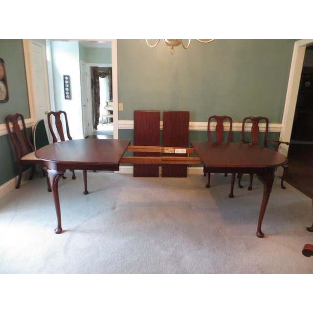 1990s Queen Anne Henkel Harris Dining Set For Sale - Image 5 of 10