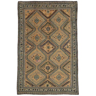 20th Century Persian Shiraz Rug - 6'5 X 10'5