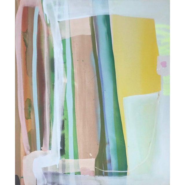 "Contemporary ""Skylight"" Original Acrylic Painting by Page Jones Davis For Sale - Image 3 of 3"
