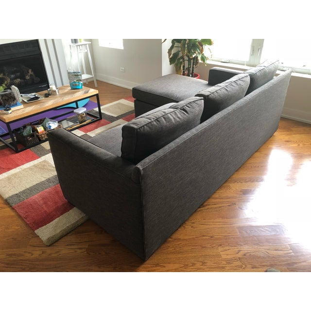 Crate & Barrel Crate & Barrel Lounge II Petite 2-Piece Sectional Sofa For Sale - Image 4 of 6