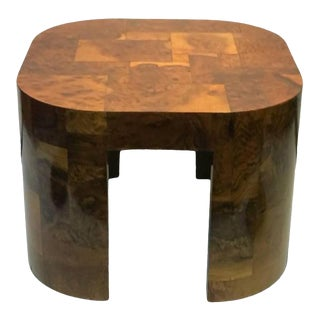 Paul Evans Patchwork Burlwood Coffee Table or Center Table For Sale