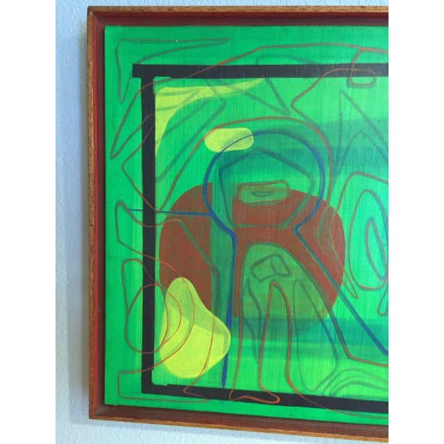 Mid-Century Modern Barbara Blume Abstract Painting - Image 5 of 8