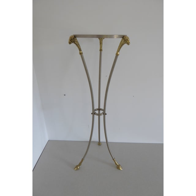 1970s Hollywood Regency Maison Jansen Pedestal Side Table For Sale In Philadelphia - Image 6 of 6