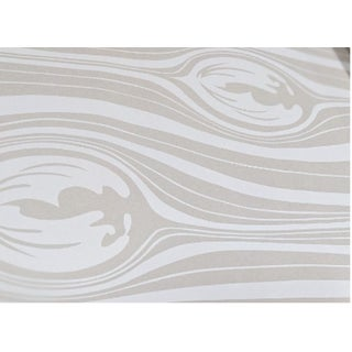 Neutral Organic Patterned Wallcovering For Sale