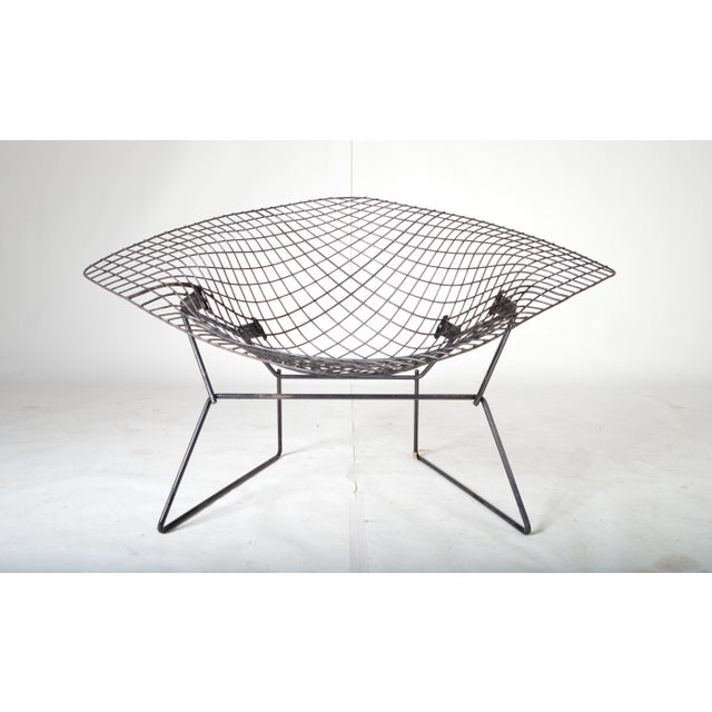 Early Harry Bertoia Diamond Chair For Knoll Chairish - Bertoia coffee table