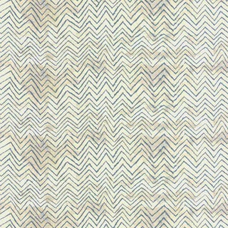 Mary Fisher Serendipity Chevron Linen Print Fabric For Sale