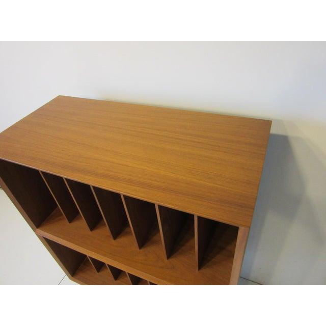 Poul Cadovius Danish Cado Teak Record Cabinet For Sale - Image 4 of 10