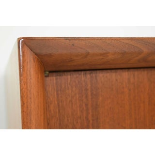 Vladimir Kagan Cherry Wood Bow Front Credenza Preview