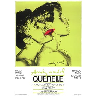 "1983 Andy Warhol ""Querelle Green"" Poster For Sale"