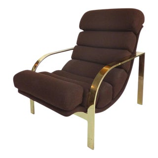 Mid-Century Baughman Style Lounge Chair For Sale