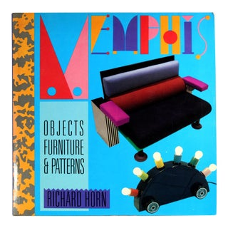 Memphis: Objects, Furniture and Patterns, First Printing For Sale