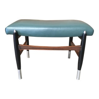 Vintage Mid Century Italian Stool For Sale