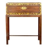 Image of Antique English Lap Desk in Rosewood For Sale