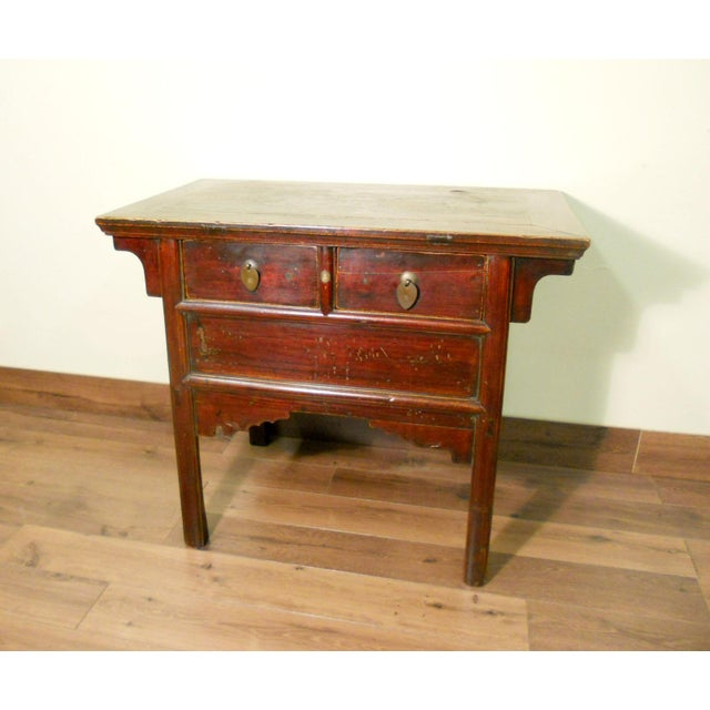 Antique Chinese Ming Altar Cabinet - Image 2 of 9