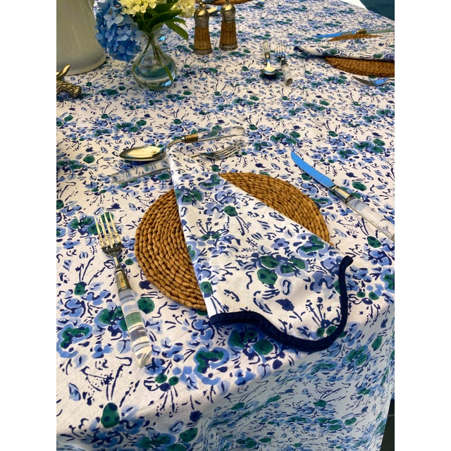 Heidi's tablecloths are the perfect table accessory to elevate any table setting. Featuring her signature elegant...