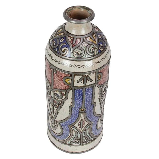 Khalida Tall Moroccan Jar For Sale - Image 4 of 4