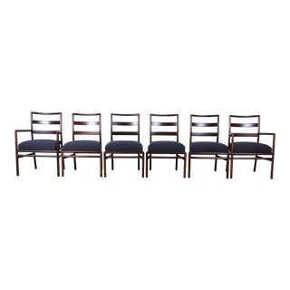 Robsjohn Gibbings for Widdicomb Mid-Century Modern Dining Chairs, Set of Six For Sale