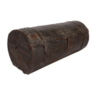 18th Century French Stagecoach Trunk For Sale