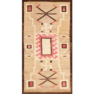 "Antique Navajo Rug 2' 10"" X 5' 2"" For Sale"