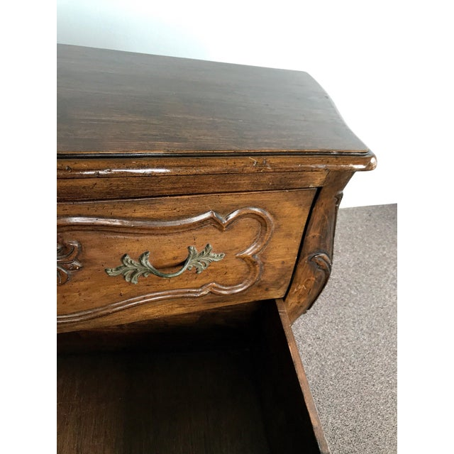 Antique 18th Century Louis XV Provencal Bombe Chest For Sale - Image 10 of 13