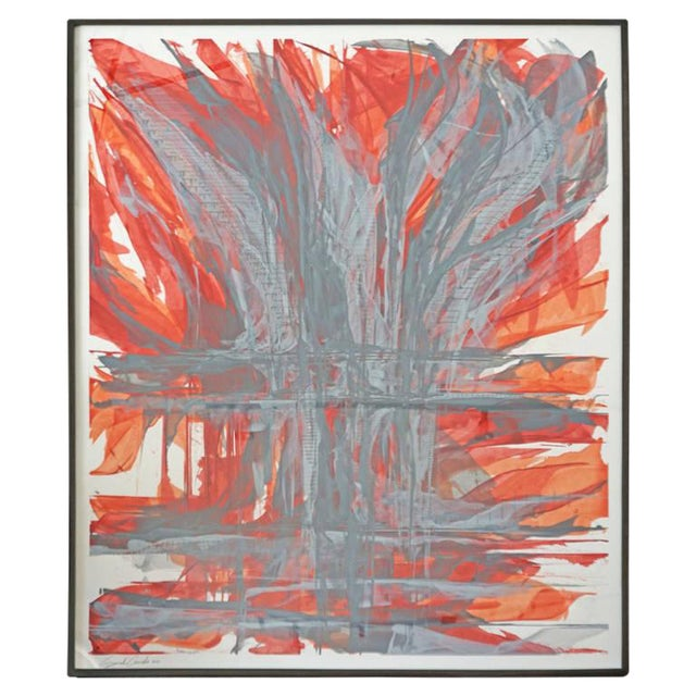 """""""IR-1534 Red Fire"""" Painting - Image 1 of 7"""