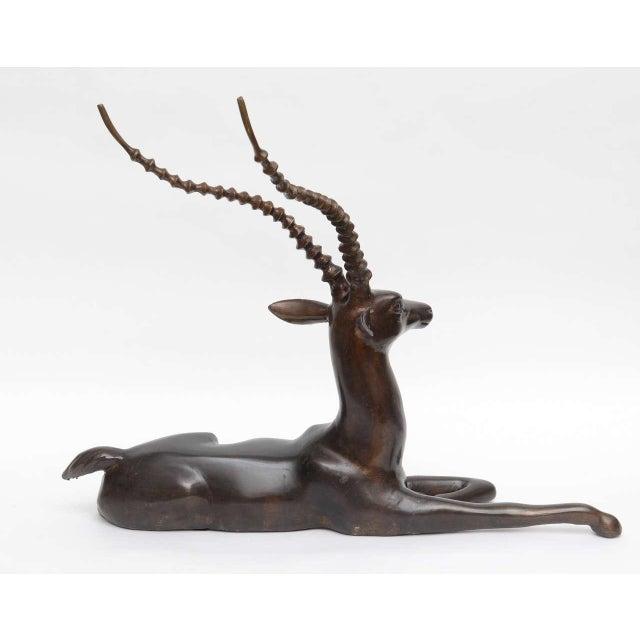 Bronze Springbok Figurine - Image 6 of 10