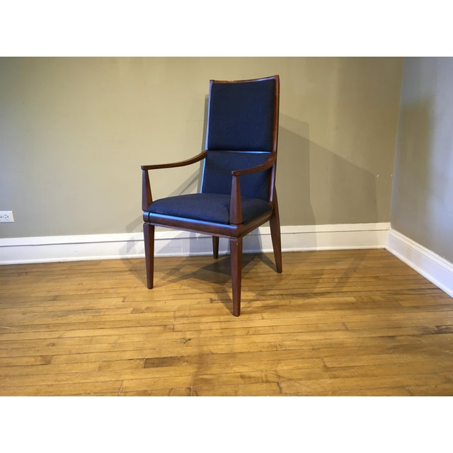 Mid-Century Walnut Kroehler Dining Chairs - Set of 6 For Sale - Image 9 of 10