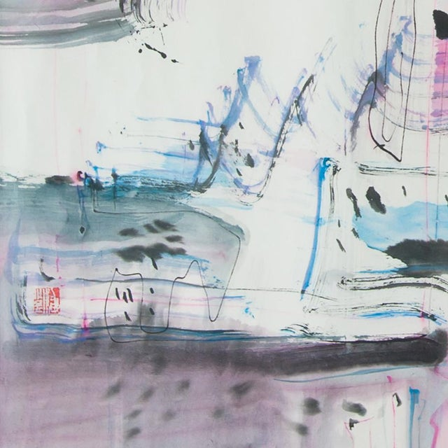 Artist: Si Jie Loo Year: 2015 Medium: Watercolor and Chinese Ink on Xuan paper 27 x 27 inches ( 68.58 x 68.58 cm) Unique