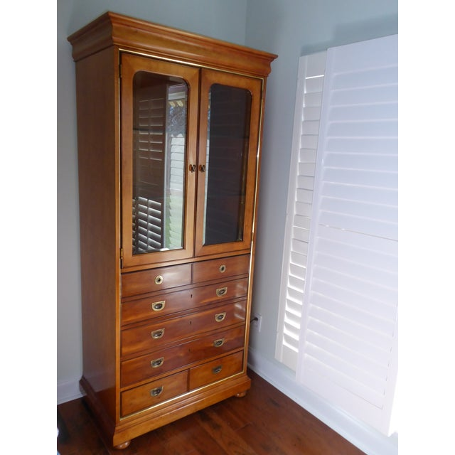Mt. Airy Display Armoire Cabinet - Image 3 of 11