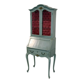 French Louis XV Style Secretary Desk For Sale