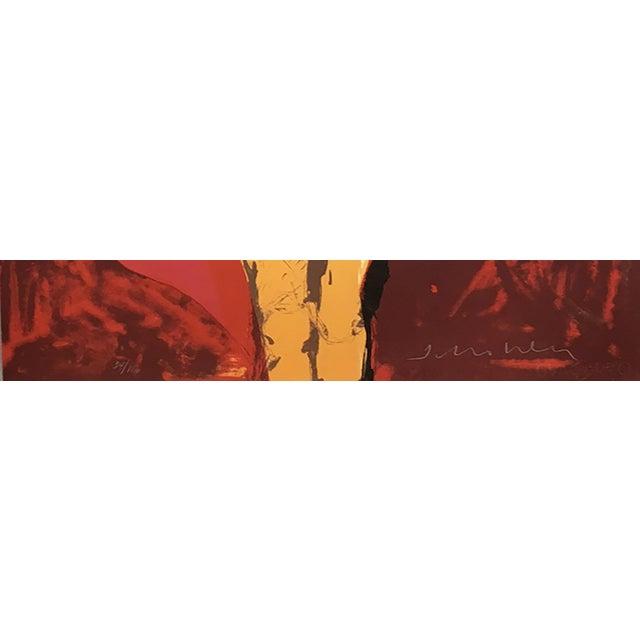 "Fritz Scholder ""Matador"" Original Lithograph - Image 3 of 3"
