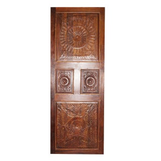 19th Century Vintage Rustic Wood Door For Sale