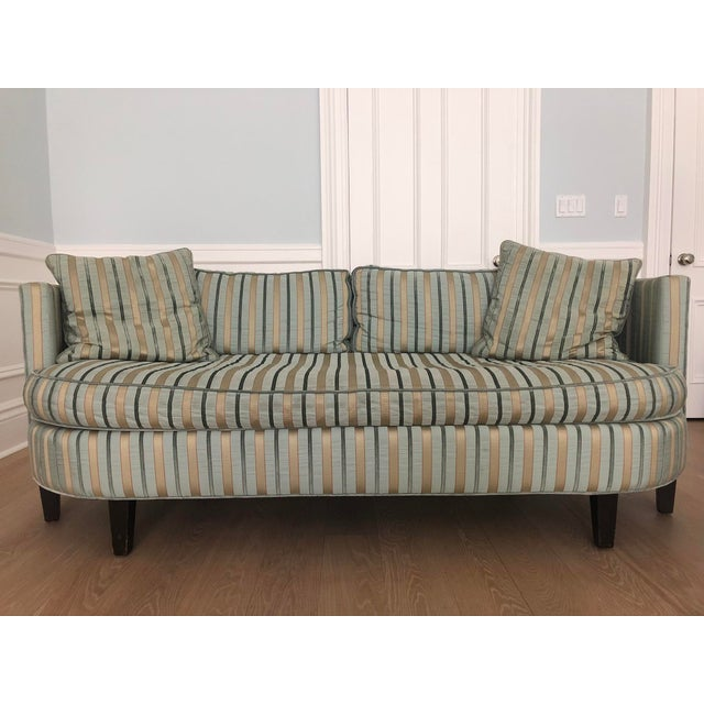 Groovy Cisco Brothers Valentina Silk Striped Sofa Andrewgaddart Wooden Chair Designs For Living Room Andrewgaddartcom